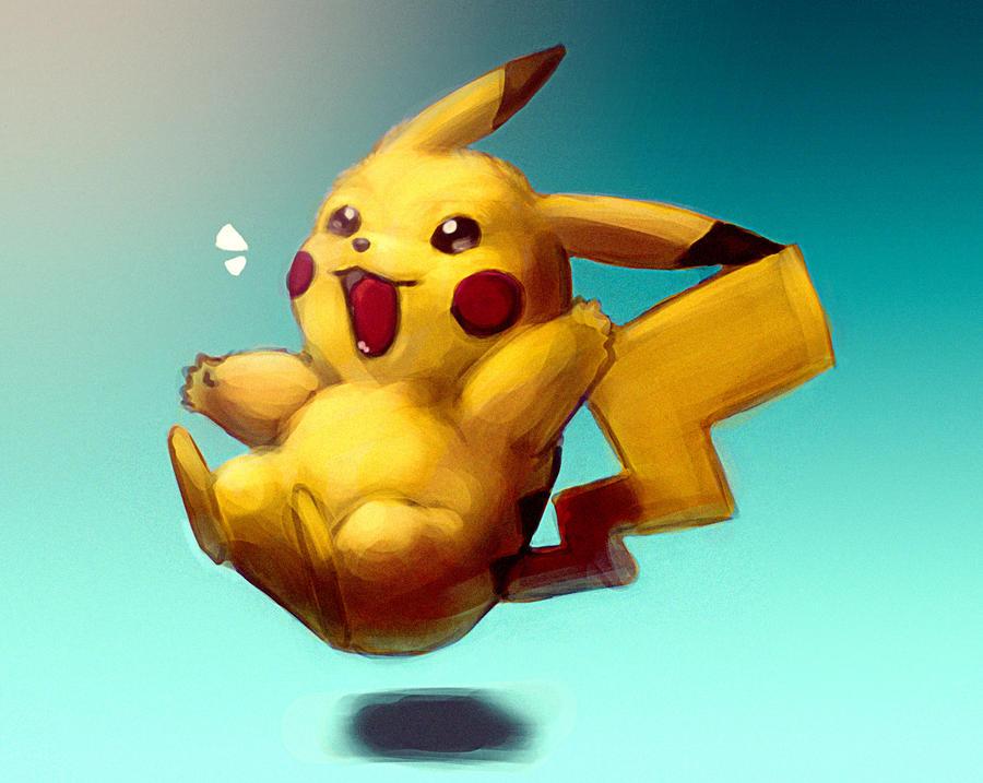 Pikachu! by Ihasmin