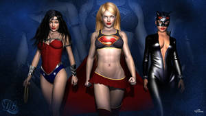 DC Girls Wallpaper