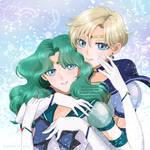 Eternal Sailor Uranus x Eternal Sailor Neptune
