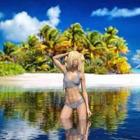 Gone Swimming by TritiumCG