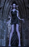 Vampire Elf by TritiumCG