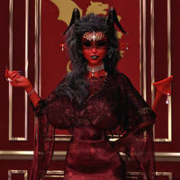 Crimson Elegance by TritiumCG