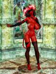 Crimson Charity NSFW by TritiumCG