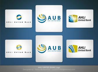 Ahli United Bank logos by Roma2010