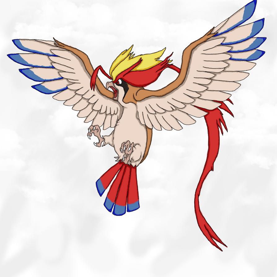 Mega Pidgeot by Miri33