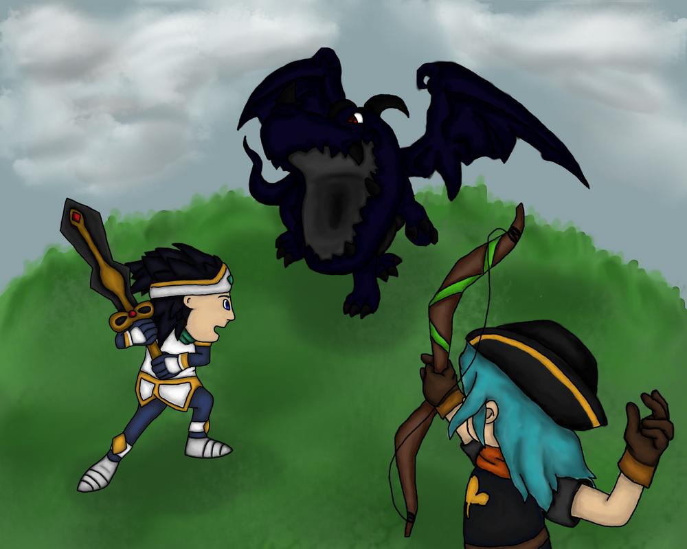 The dragon king by Miri33