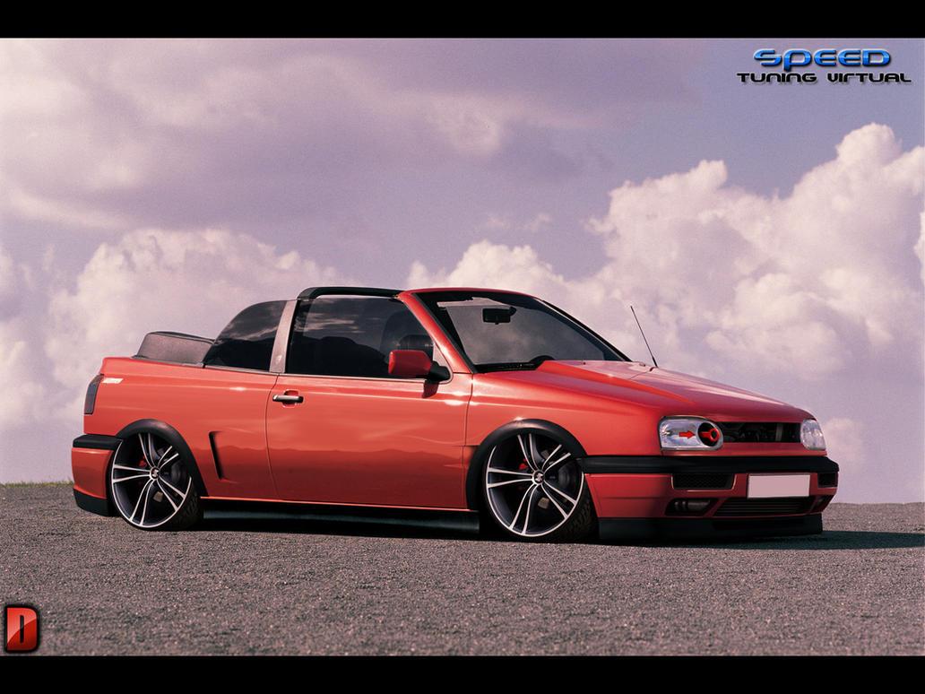 VW Golf Cabrio VTuning by DenilsonDesign on DeviantArt