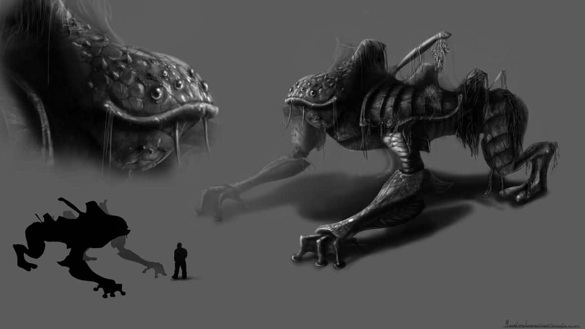 Creature Concept by xynode