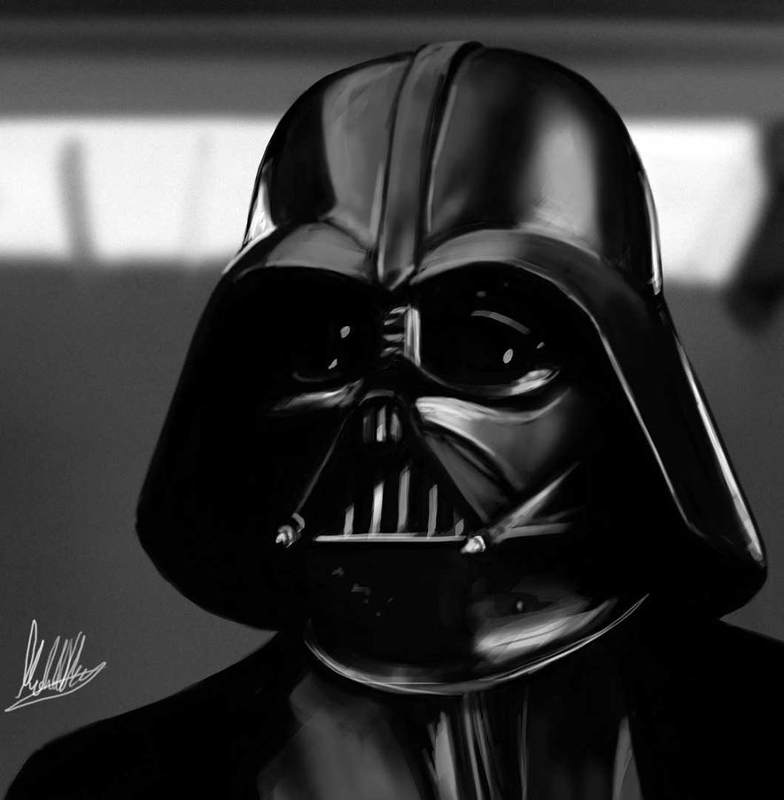 Darth Vader Sketch by xynode