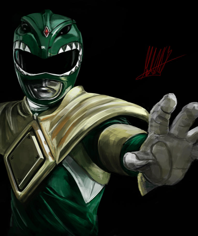 Green Ranger fan art by xynode on DeviantArt