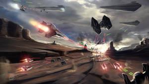 Star wars battle : fan art