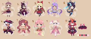 [CLOSED] Adoptable Batch  [$5 - $15] PayPal/Points