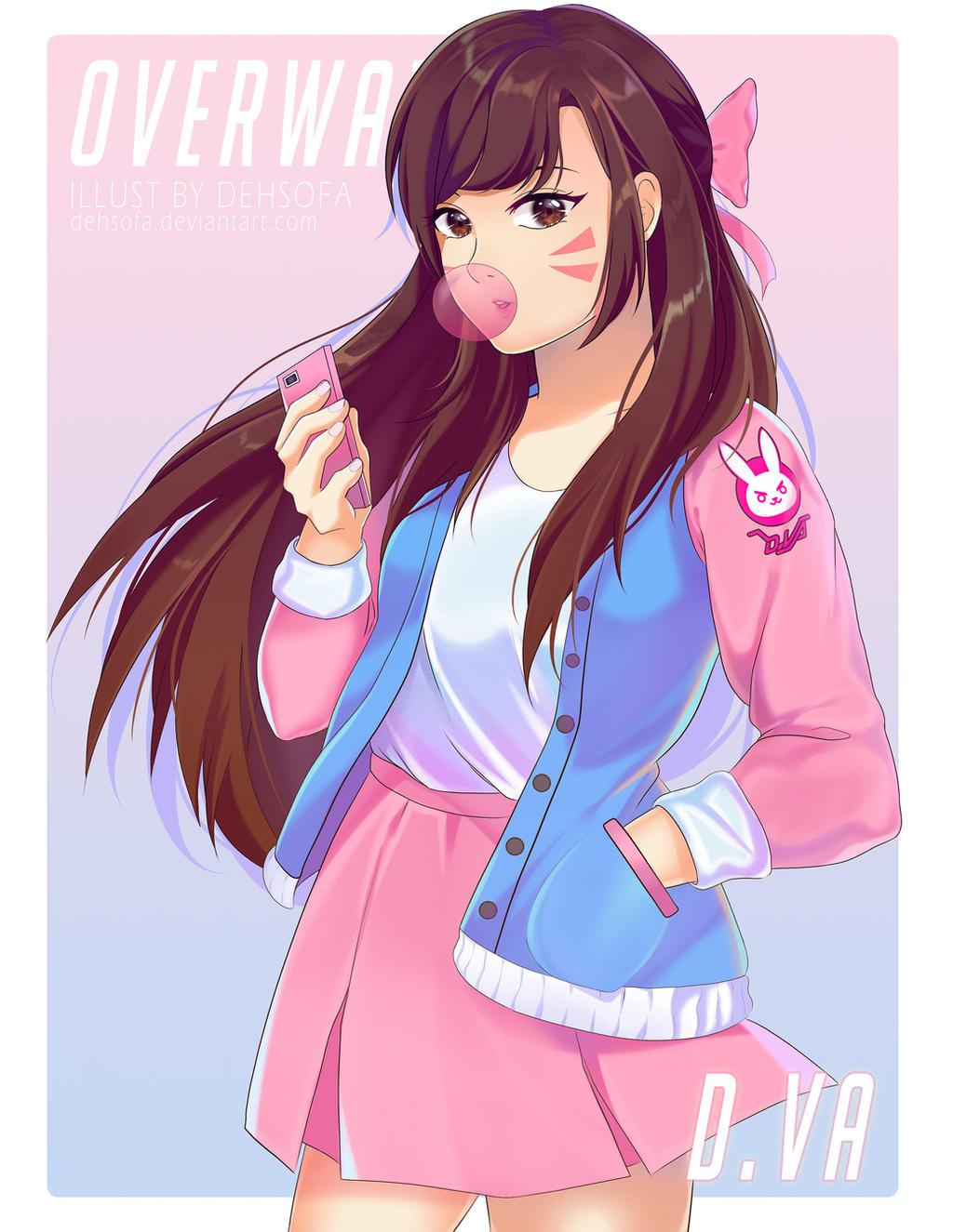 casual d va by dehsofa on deviantart