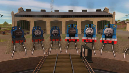 Shed 17 Thomas Faces Test by Gameoholic1994