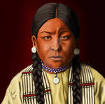 Buffalo Calf Road Woman, Cheyenne Warrior by diddles25