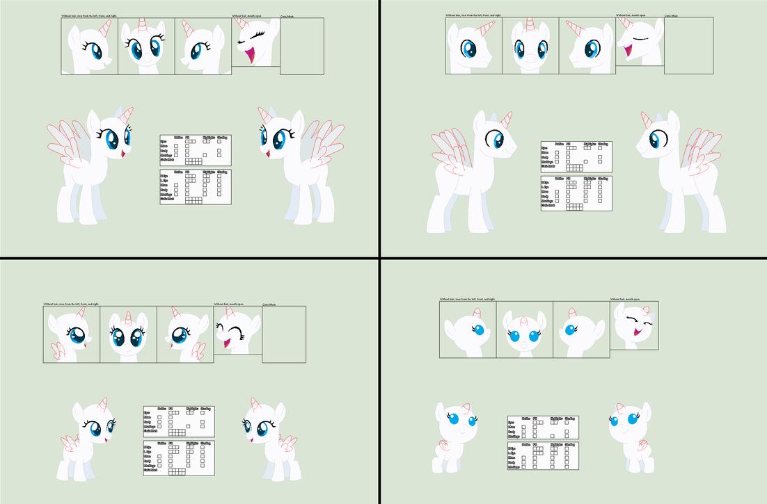 Mlp base templates by Llamagal21