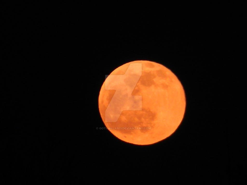 Orange You Glad I'm a Moon? by Gothalla123