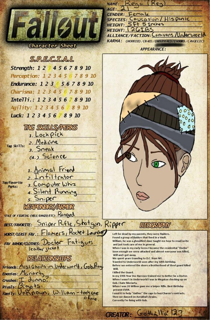 Fallout 3 character names