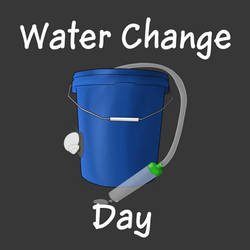 Water Change Day - Available on Redbubble!