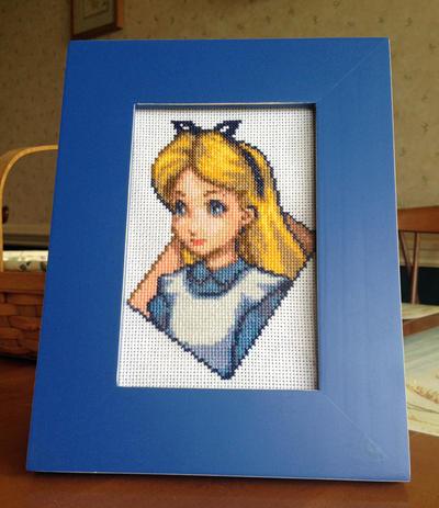 Alice in Wonderland Cross Stitch by Xippe