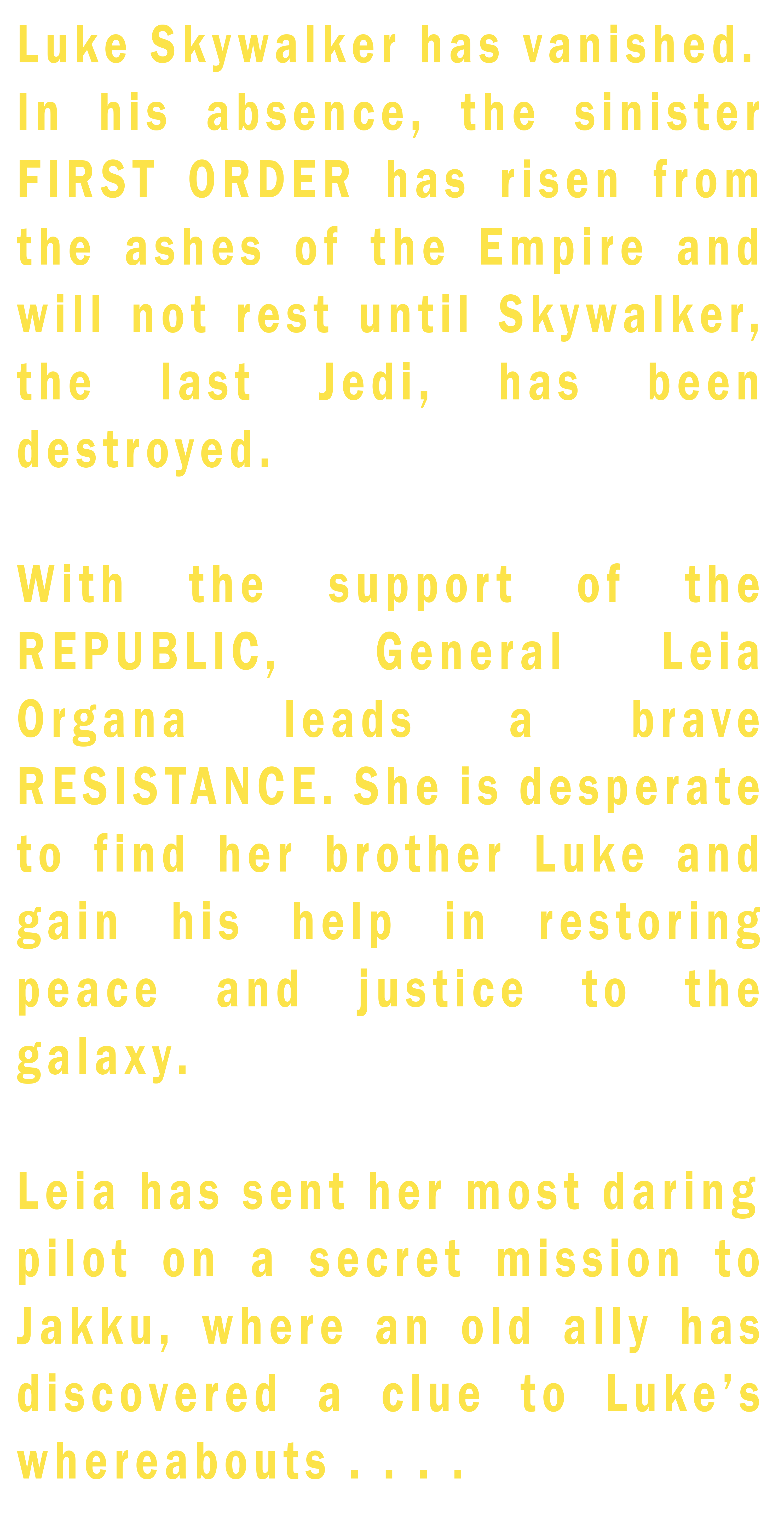 Star Wars 7 The Force Awakens Crawl Text by likeonions on DeviantArt