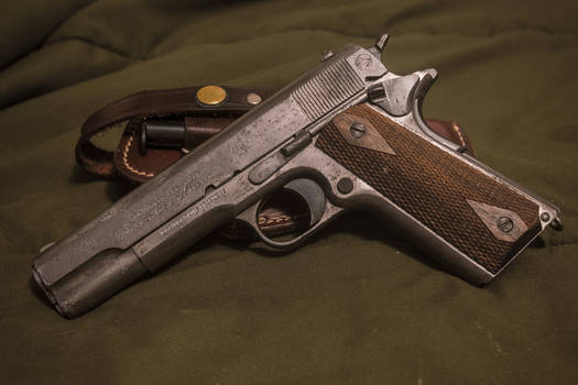 M1911, 1912 Manufacture, In The White