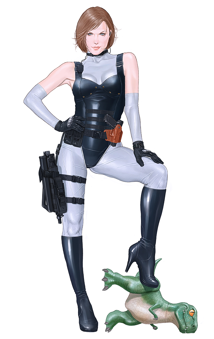 Jill Valentine Re3 Dinocrisis Costume By A Paru On Deviantart