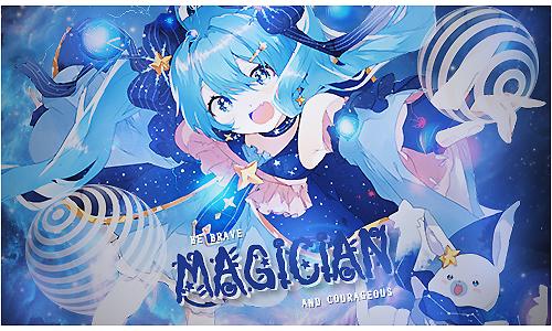Magician by Yukayo