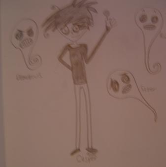 Casper and His Lolipop by xYumiYumiYumix