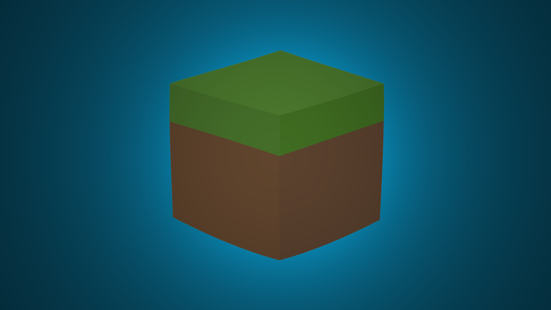 Minecraft minimalist grass block wallpaper by darkgs on Block wallpaper