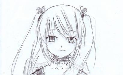 Anime Girl by Kisora-Kirio
