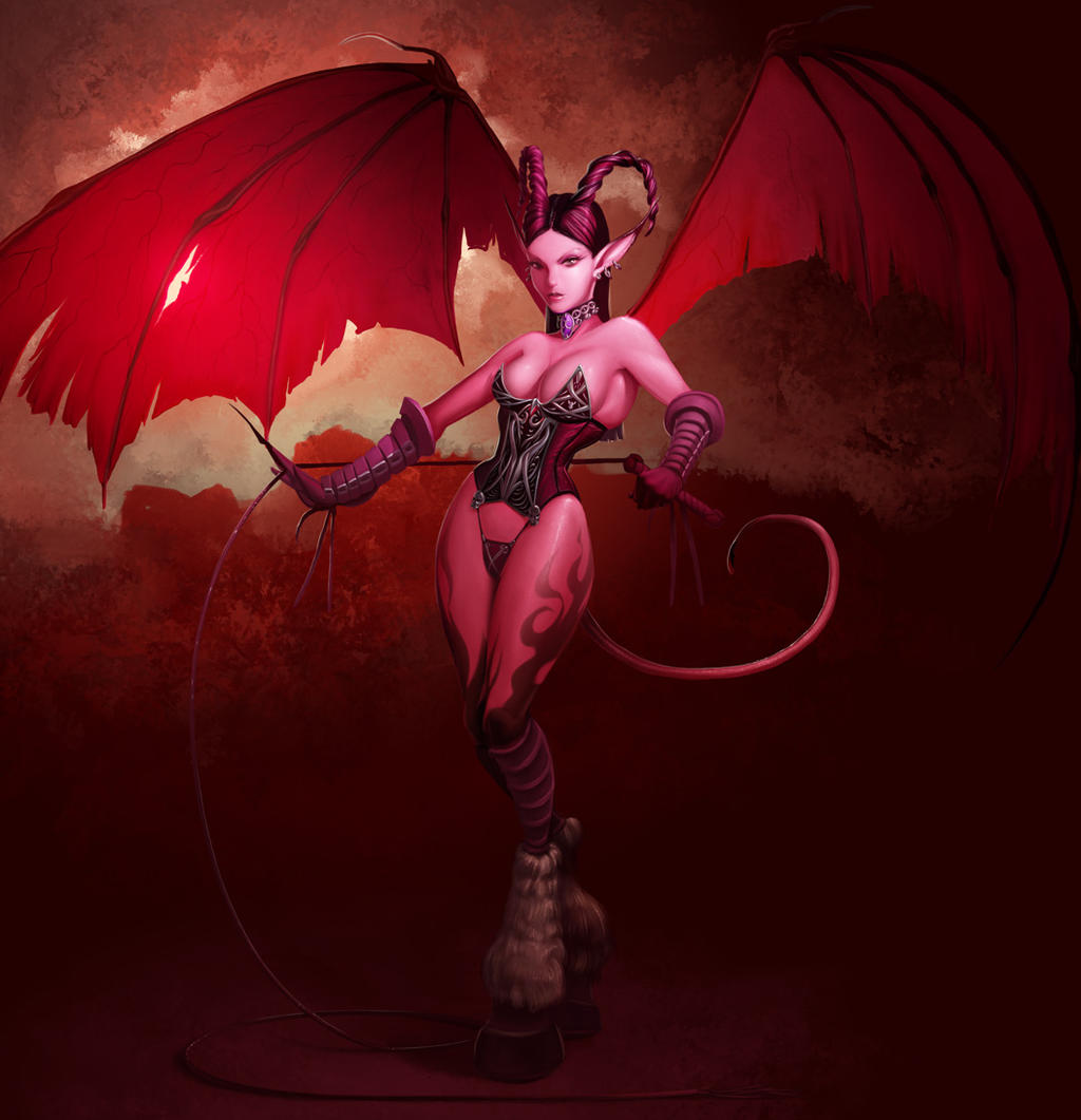 Succubus by ~achibner on deviantART