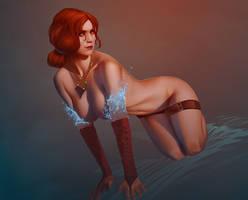 Triss Merigold by achibner