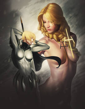 Clare and Teresa from Claymore