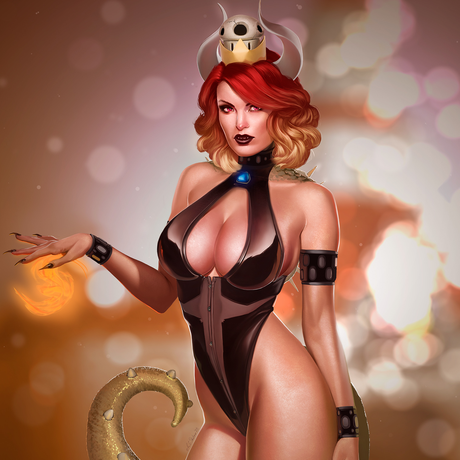 Bowsette by achibner