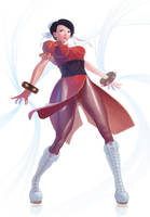 Chun Li - Street Fighter by achibner