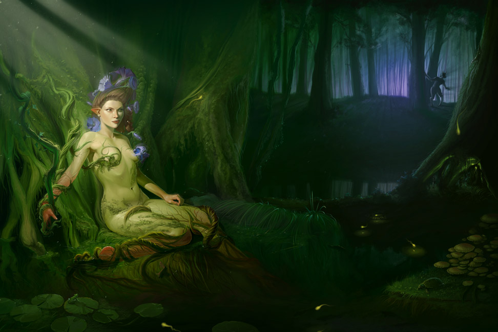 TESTE | Andrew McAlister A_dryad_by_achibner