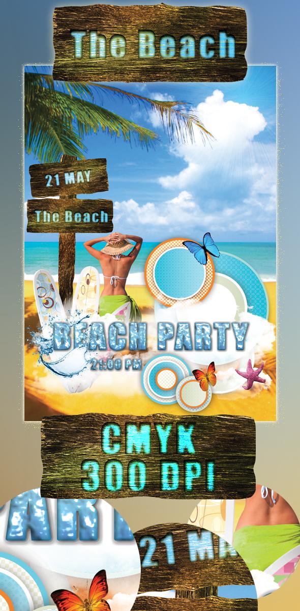 Summer Beach Party. by SameehShkeer