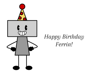 Birthday gift for Ferrin by CloveryLeaf