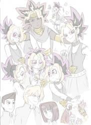 Queen of Games doodles