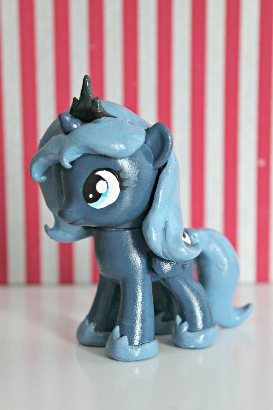 MLP FiM: G4 Filly Luna Custom by Claytacular