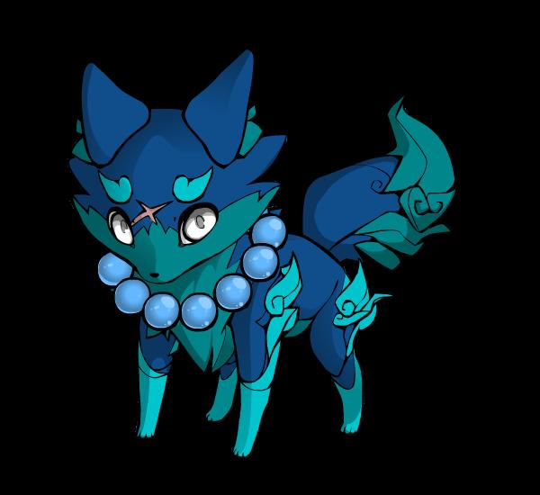 My Fox So Blue by PanamaDiva