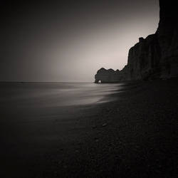 Dawn at Etretat