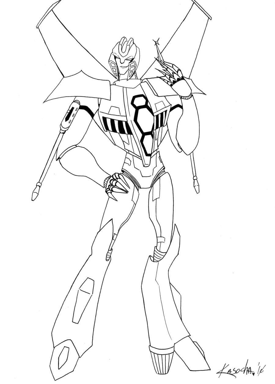 Tfa starscream by kawaiisonicchao on deviantart for Starscream coloring page