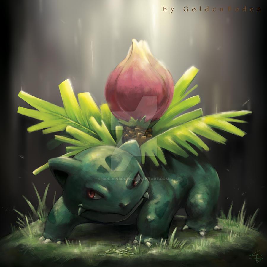 Ivysaur by GoldenBoden