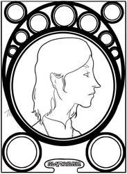 Art Nouveau Slytherin