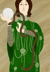 Klimt Style Slytherin