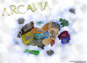 Arcadia - Map