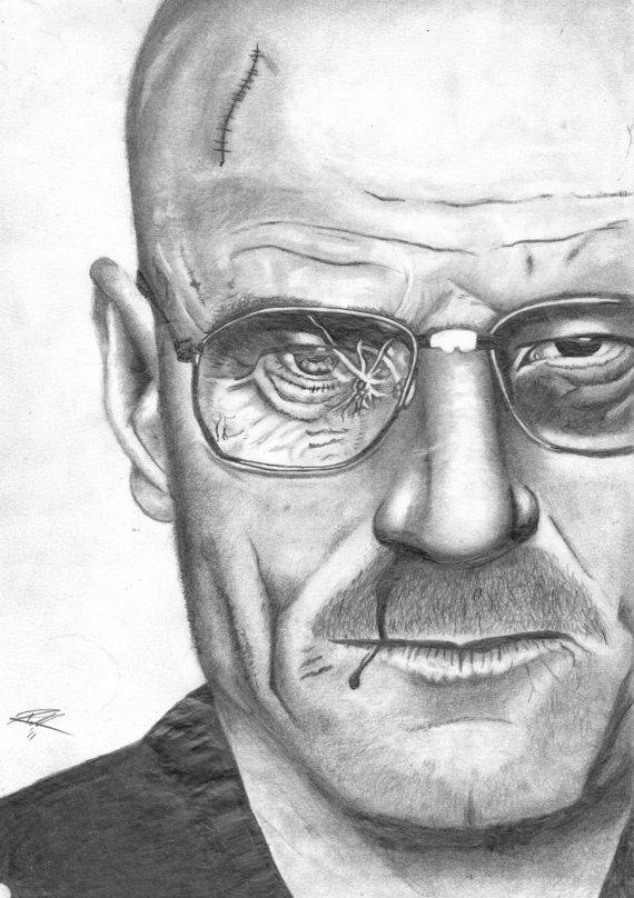 Walter White - Breaking Bad by vandenhoorn