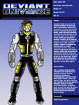 Deviant Universe - Agent 42X by mja42x